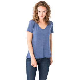 super.natural Travel T-shirt Femme, coastal fjord melange